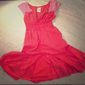 Free People Casual Red Dress